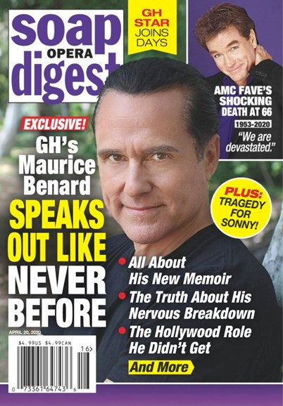 Soap Opera Digest Cover - 4/20/2020