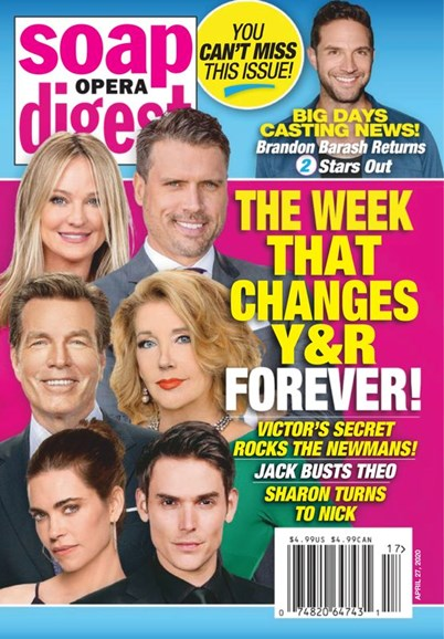 Soap Opera Digest Cover - 4/27/2020