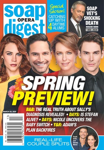 Soap Opera Digest Cover - 3/30/2020