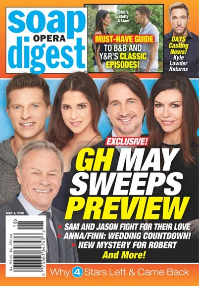 Soap Opera Digest Cover - 5/4/2020