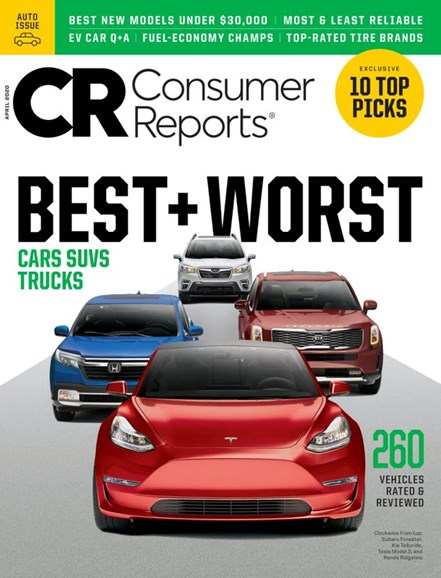 Consumer Reports Cover - 4/1/2020