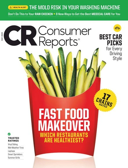Consumer Reports Cover - 5/1/2020
