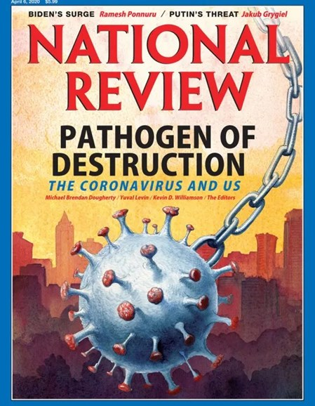 National Review Cover - 4/6/2020