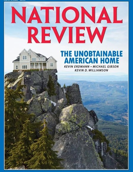 National Review Cover - 3/9/2020