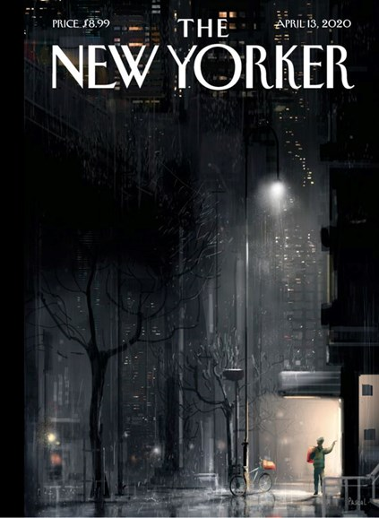 The New Yorker Cover - 4/13/2020
