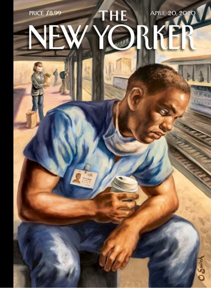 The New Yorker Cover - 4/20/2020