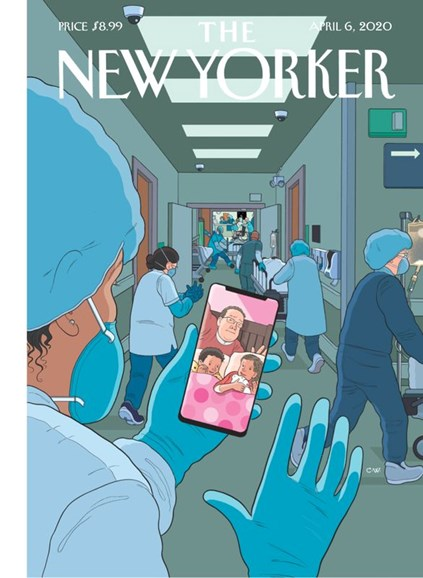 The New Yorker Cover - 4/6/2020