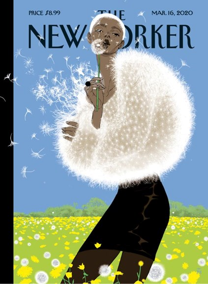 The New Yorker Cover - 3/16/2020