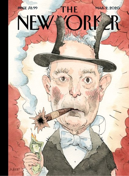 The New Yorker Cover - 3/2/2020
