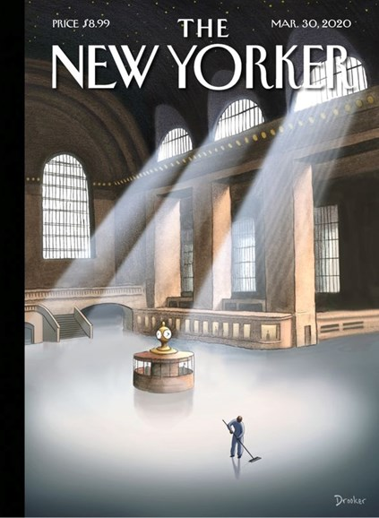 The New Yorker Cover - 3/30/2020