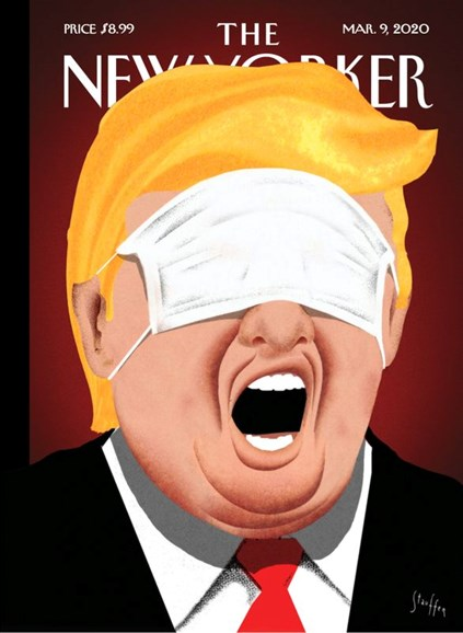 The New Yorker Cover - 3/9/2020