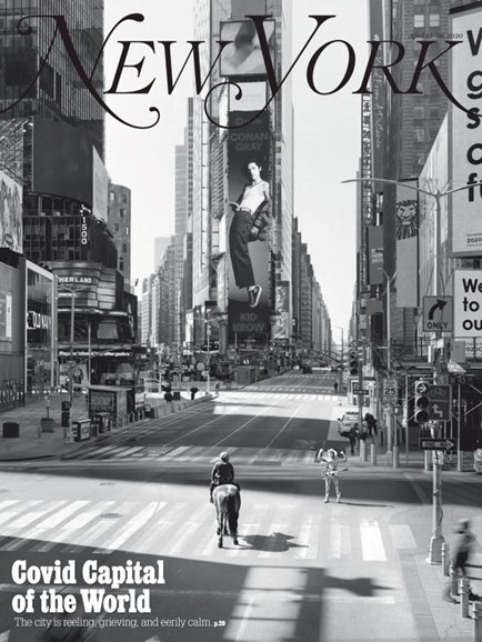 New York Magazine Cover - 4/13/2020