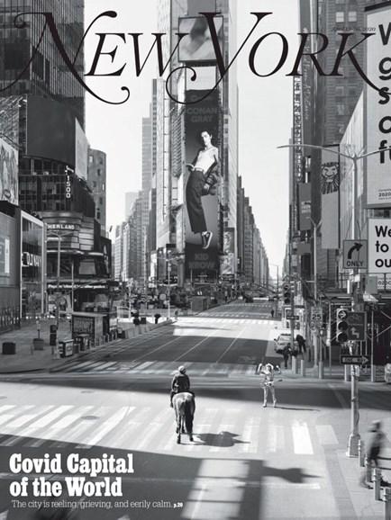 New York Magazine Cover - 4/13/2020