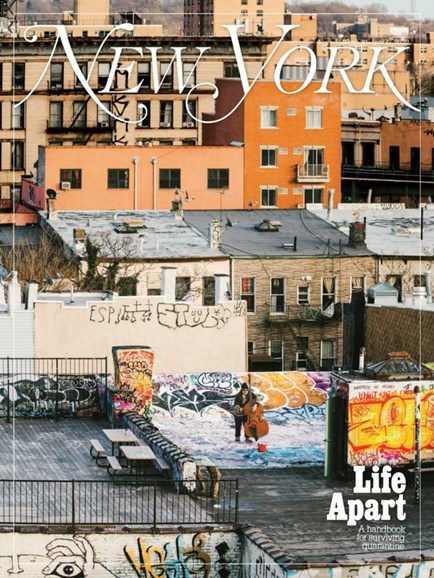 New York Magazine Cover - 3/30/2020