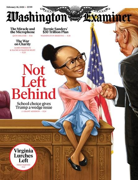 Washington Examiner Cover - 2/18/2020