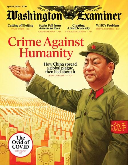 Washington Examiner Cover - 4/28/2020