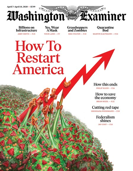 Washington Examiner Cover - 4/7/2020