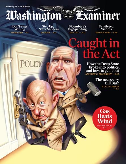 Washington Examiner Cover - 2/25/2020