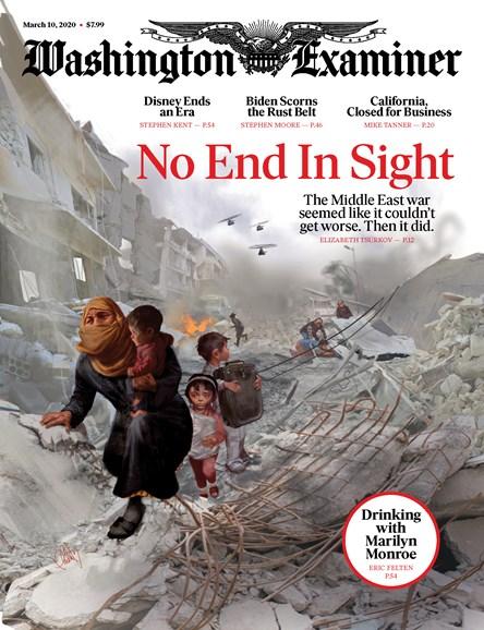 Washington Examiner Cover - 3/10/2020