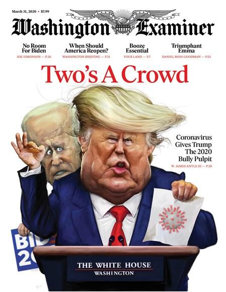 Washington Examiner Cover - 3/31/2020