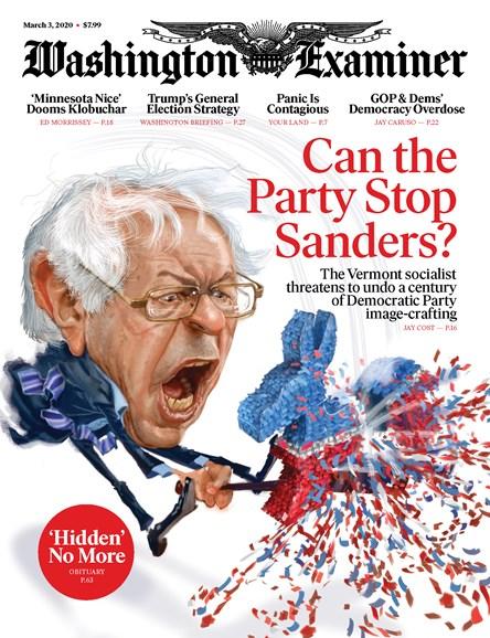 Washington Examiner Cover - 3/3/2020