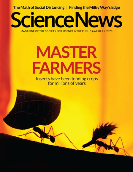 Science News Cover - 4/25/2020