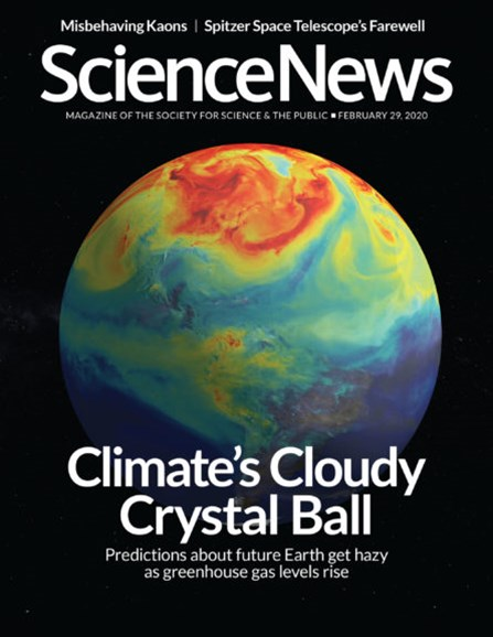 Science News Cover - 2/29/2020
