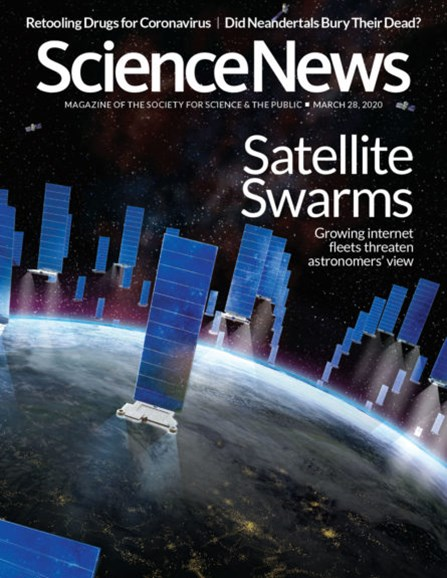 Science News Cover - 3/28/2020