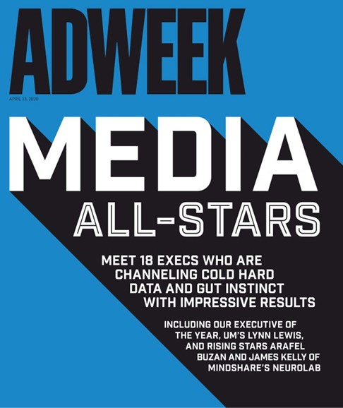 Adweek Cover - 4/13/2020