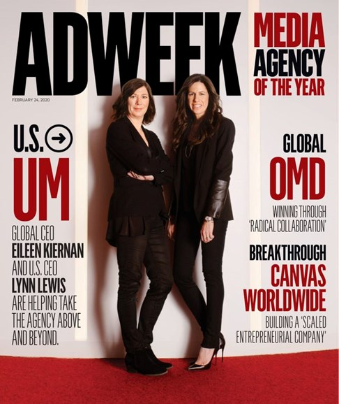 Adweek Cover - 2/24/2020