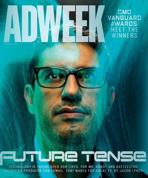 Adweek Cover - 3/16/2020