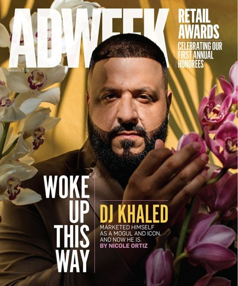 Adweek Cover - 3/2/2020