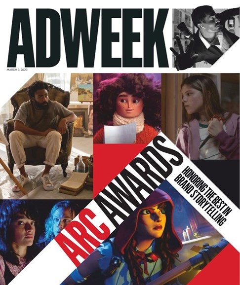 Adweek Cover - 3/9/2020