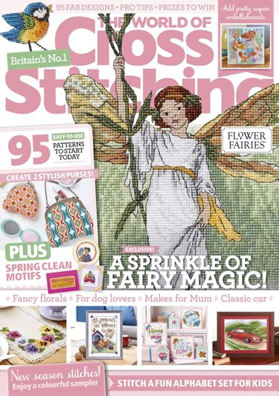 The World of Cross Stitching Cover - 3/1/2020