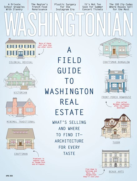 Washingtonian Cover - 4/1/2020