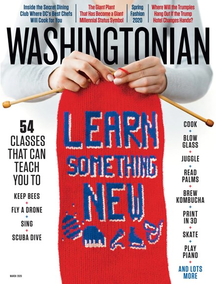 Washingtonian Cover - 3/1/2020