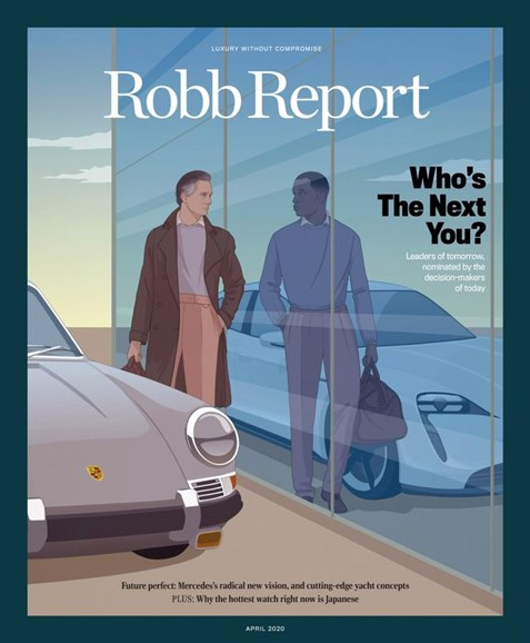 Robb Report Cover - 4/1/2020
