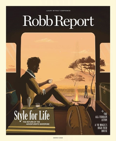 Robb Report Cover - 3/1/2020