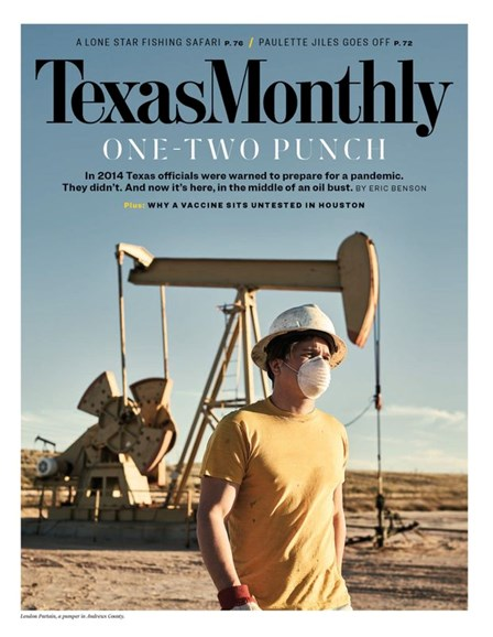 Texas Monthly Cover - 5/1/2020