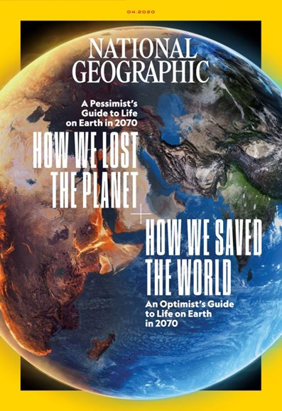 National Geographic Cover - 4/1/2020