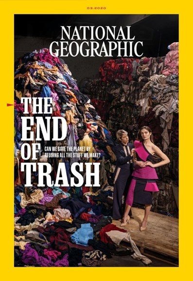 National Geographic Cover - 3/1/2020