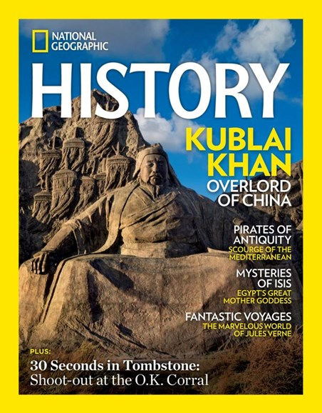National Geographic History Cover - 3/1/2020