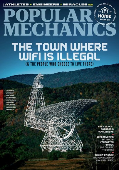 Popular Mechanics Cover - 5/1/2020