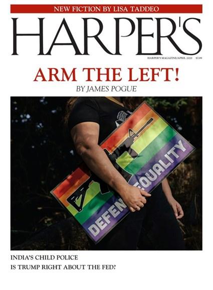 Harper's Cover - 4/1/2020