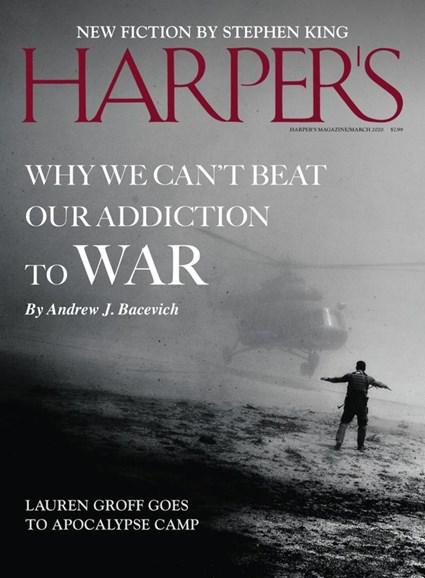 Harper's Cover - 3/1/2020
