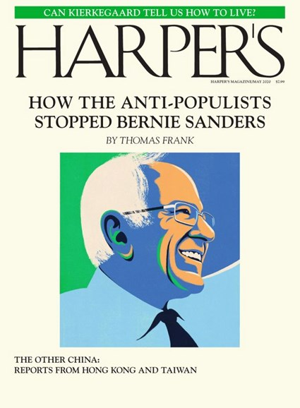 Harper's Cover - 5/1/2020