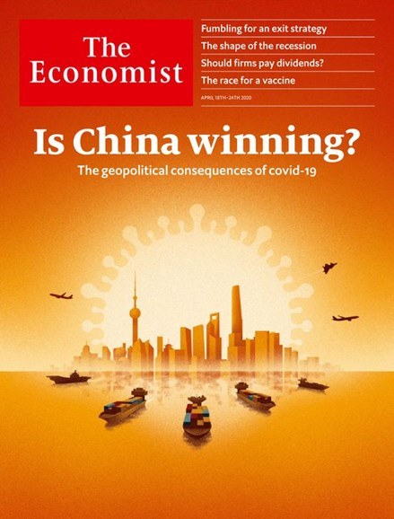 The Economist Cover - 4/18/2020