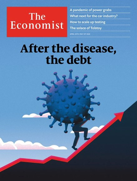 The Economist Cover - 4/25/2020