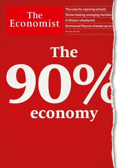The Economist Cover - 5/2/2020