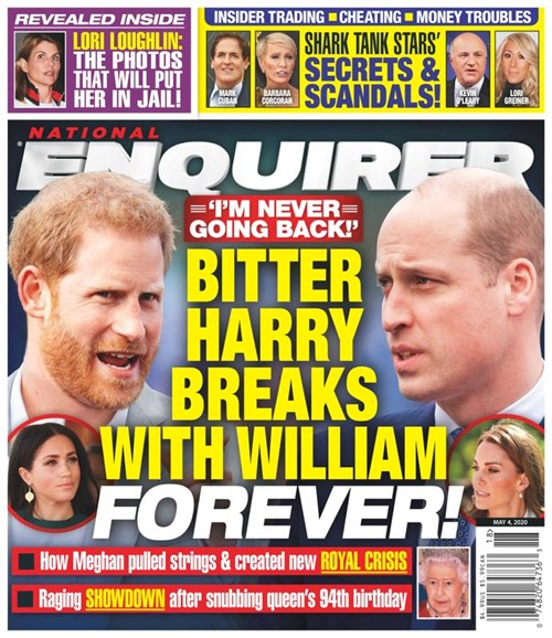 National Enquirer Cover - 5/4/2020